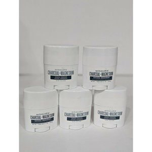(5) Schmidt's Charcoal Magnesium Natural Deodorant